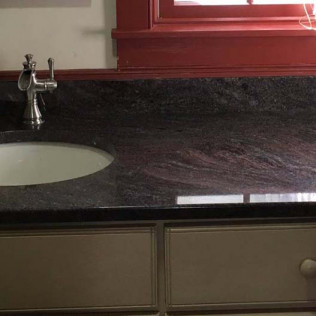 Indian Paradiso Granite Bathroom Vanity