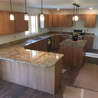 Torroncino Granite Kitchen