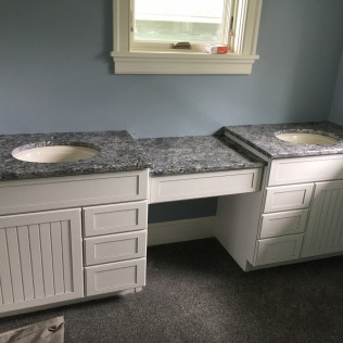 Azul Aran Granite Bathroom Vanity
