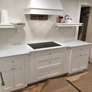 White Carrara Marble Countertops
