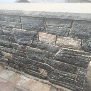 Ashlar - Shows stripes from cutting