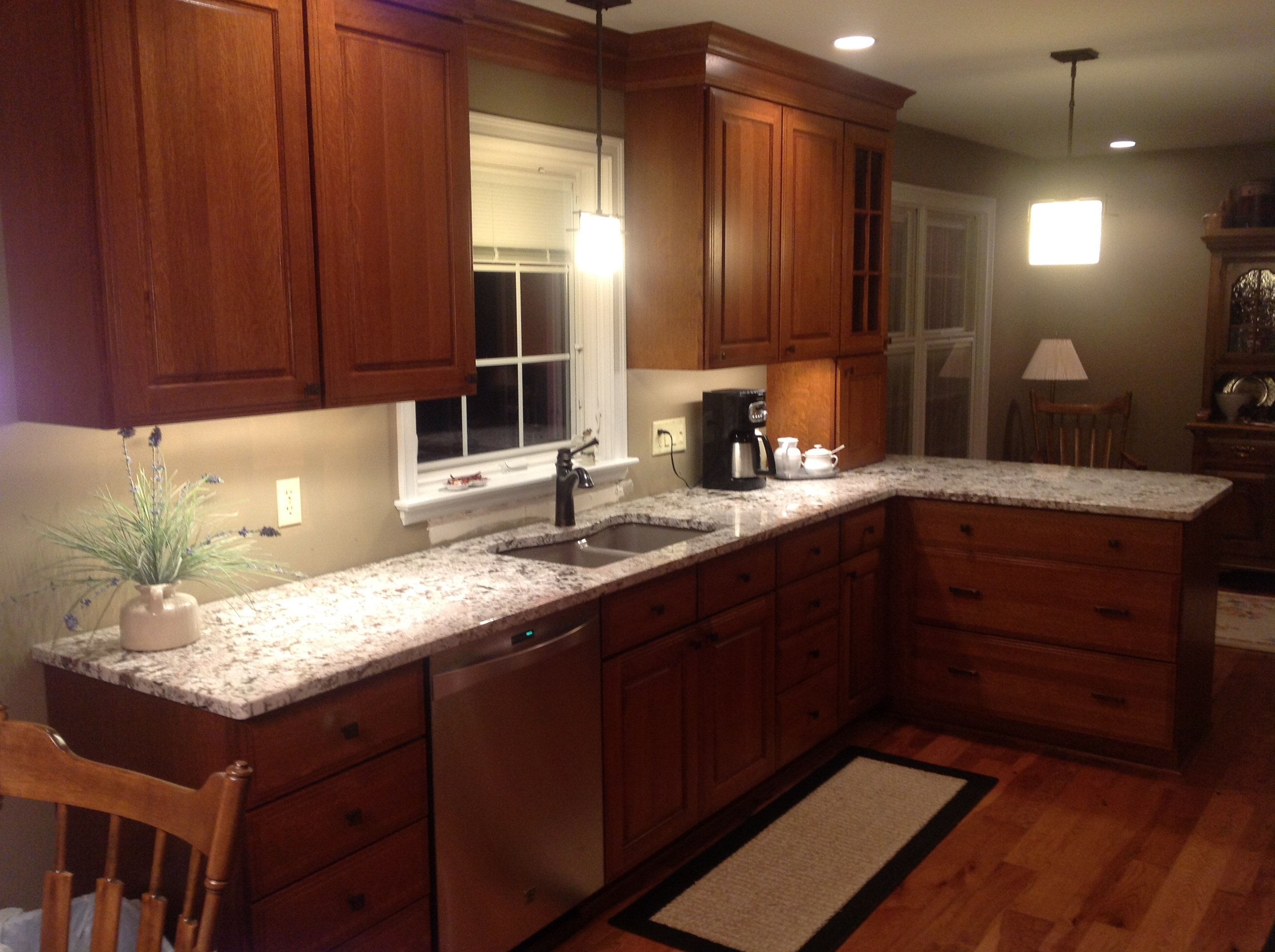 Bianco Antico Granite Kitchen Countertops