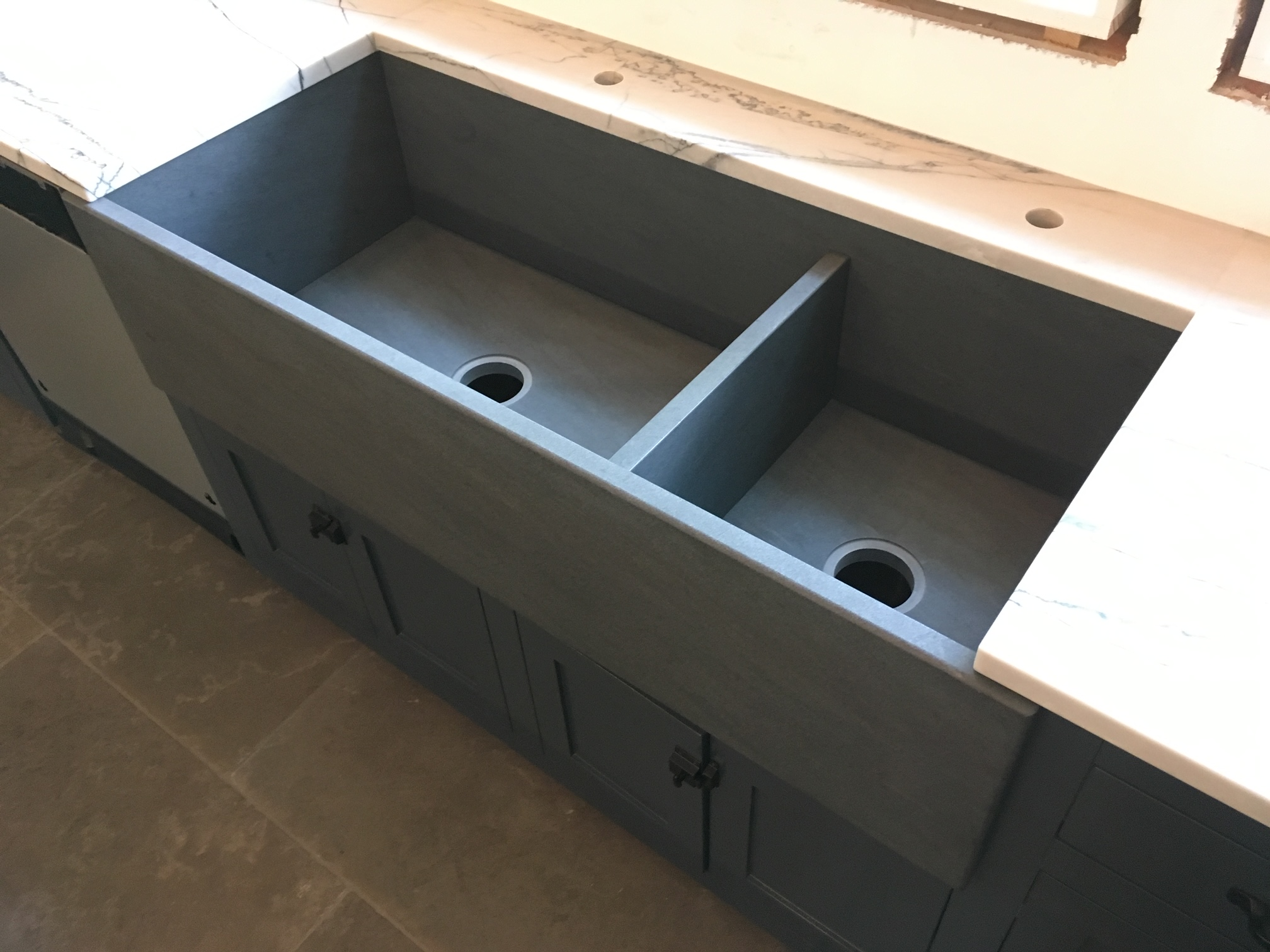 New Pietra Cardosa Granite Farm Sink