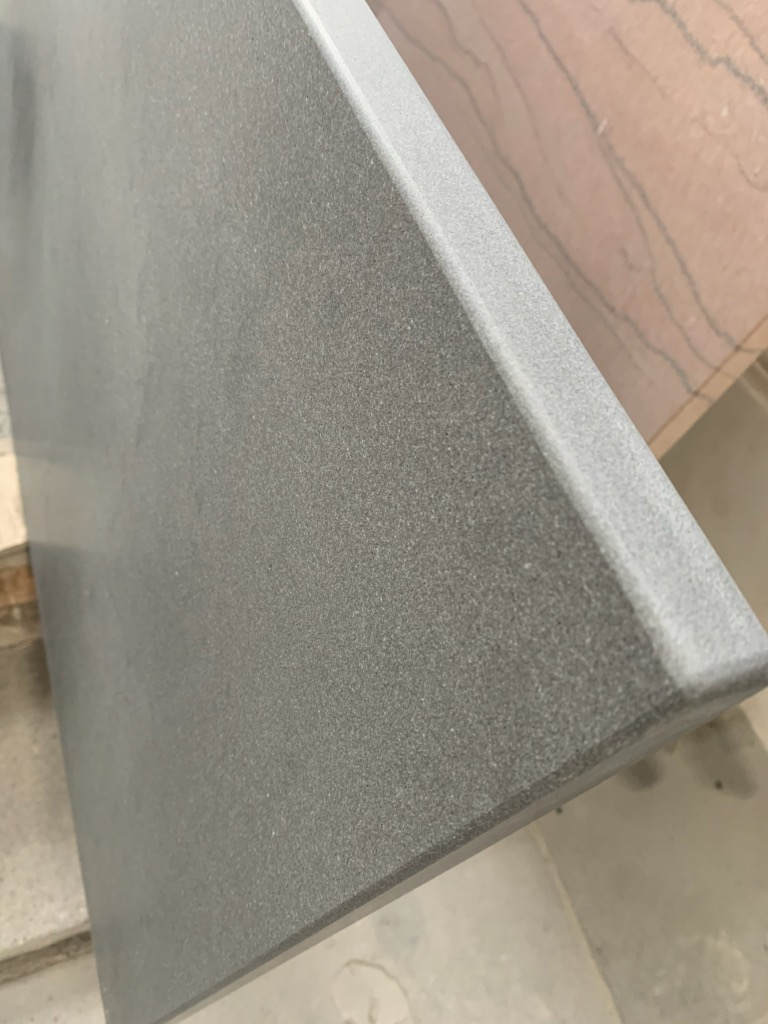 Italian Bluestone with Honed Top and Honed Edges