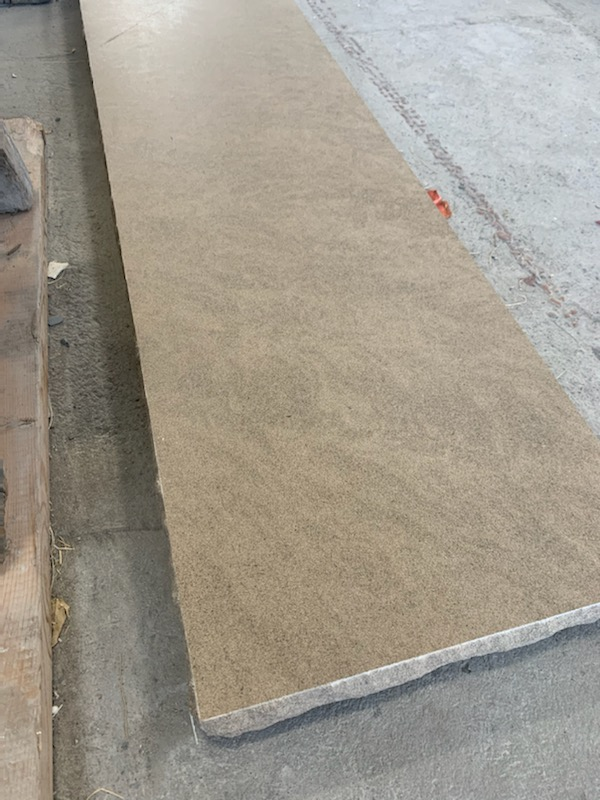 Tiger Limestone with Honed Top